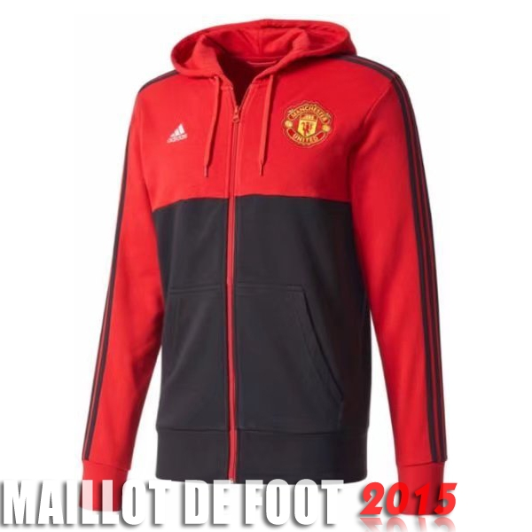 Sudaderas Con Capucha Manchester United Noir Rouge 17/18