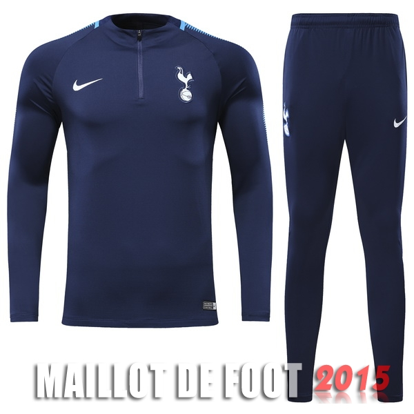Ensemble Survetement De Laine Tottenham Hotspur Bleu Marine 17/18