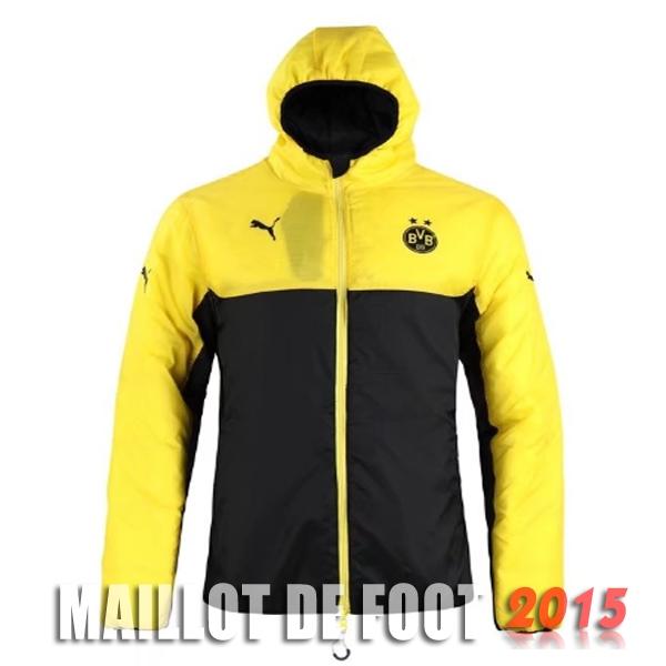 veste vers le bas sweat shirt capuche borussia dortmund jaune noir 17 18 pas cher. Black Bedroom Furniture Sets. Home Design Ideas