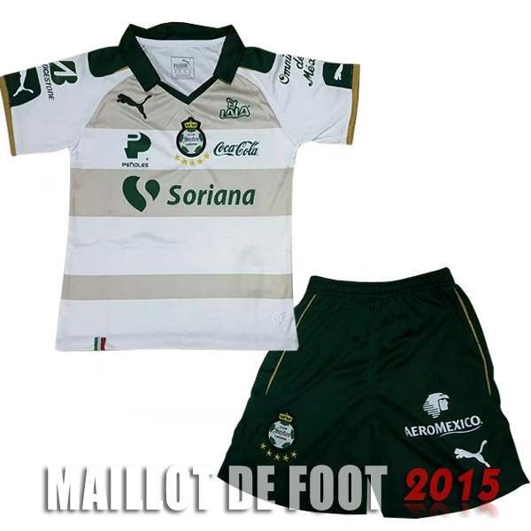Maillot De Foot Santos Laguna Enfant 17/18 Third Un ensemble