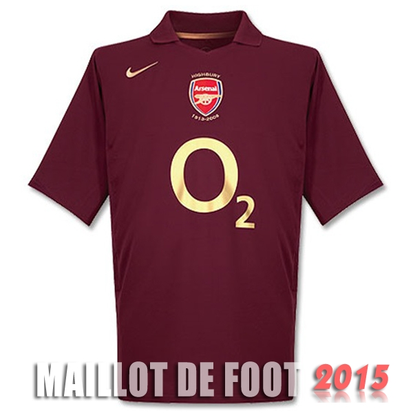 Maillot De Foot Arsenal 2005 2006 Retro Domicile