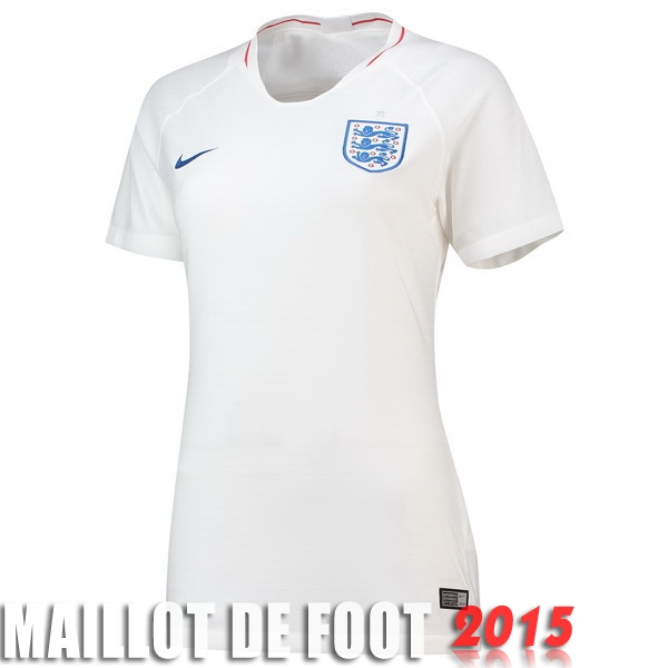 Maillot De Foot Angleterre Femme Mondiall 2018 Domicile