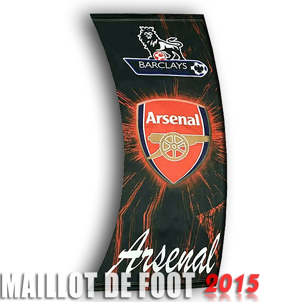 Football Drapeau de Arsenal Noir