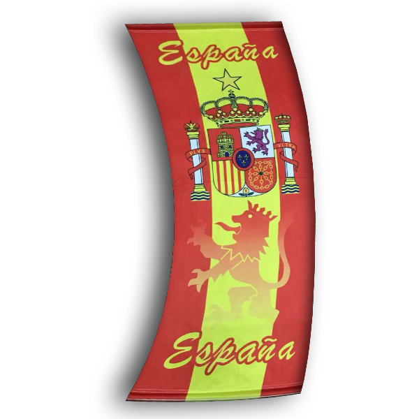 Football Drapeau de España Rouge