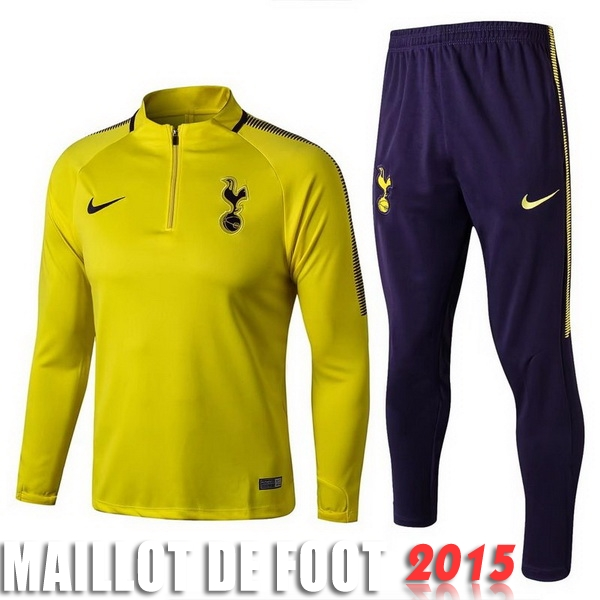 Ensemble Survetement Tottenham Hotspur Jaune 17/18