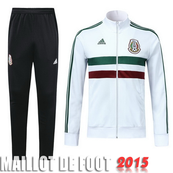 Survêtements Mexico Blanc 2018