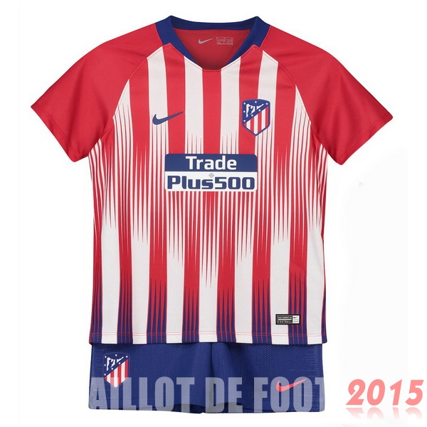 Maillot De Foot Atletico Madrid Enfant 18/19 Domicile Un ensemble