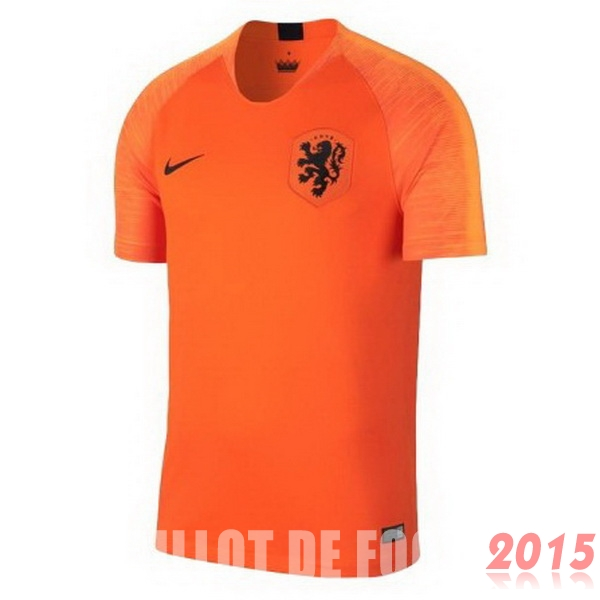 Maillot De Foot Hollande Mondial 2018 Domicile