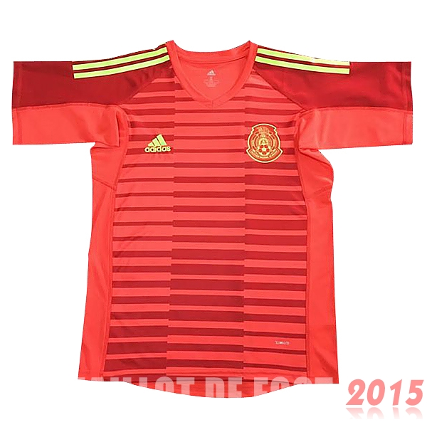 Maillot De Foot Mexique Gardien Mondial 2018 Rouge