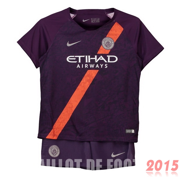 Maillot De Foot Manchester City Enfant 18/19 Third Un ensemble