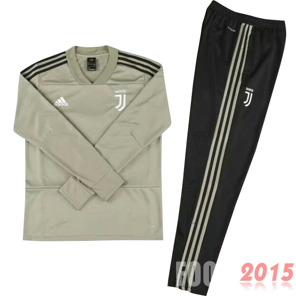 Survetement Enfant Juventus Marron Noir 18/19