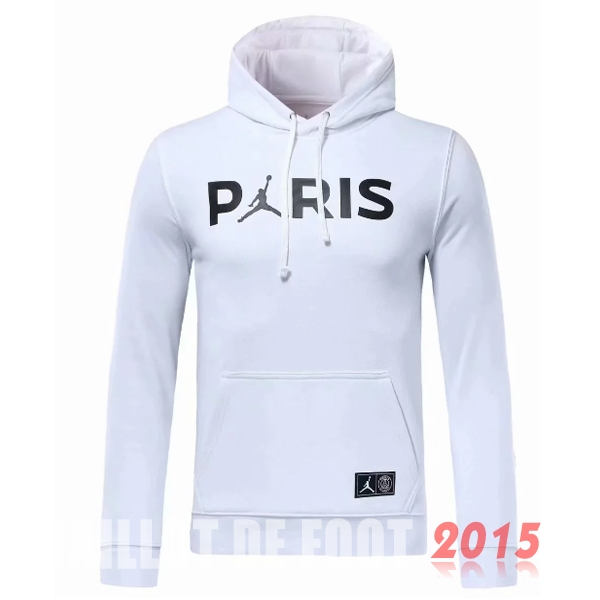 Sweat Shirt Capuche PSG Blanc 18/19