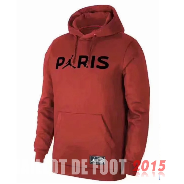 Sweat Shirt Capuche PSG Rouge 18/19