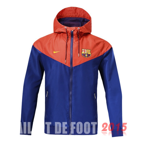 Coupe Vent Barcelona Bleu Orange 18/19