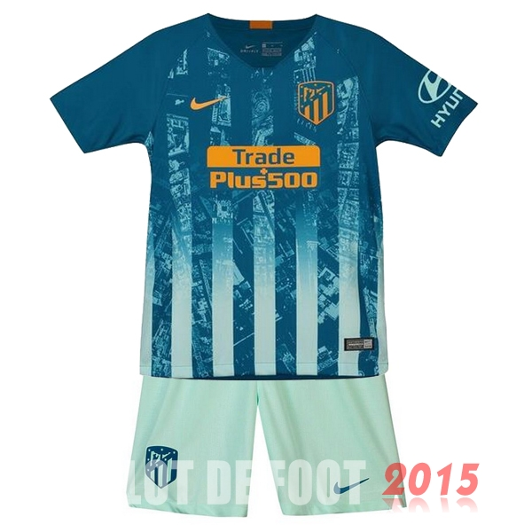 Maillot De Foot Atletico Madrid Enfant 18/19 Third Un ensemble