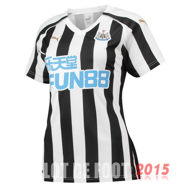 Maillot De Foot Newcastle United Femme 18/19 Domicile