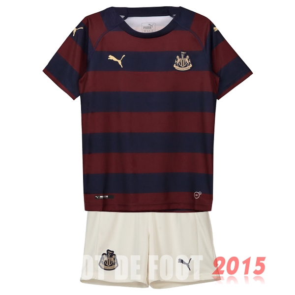 Maillot De Foot Newcastle United Enfant 18/19 Exterieur Un ensemble