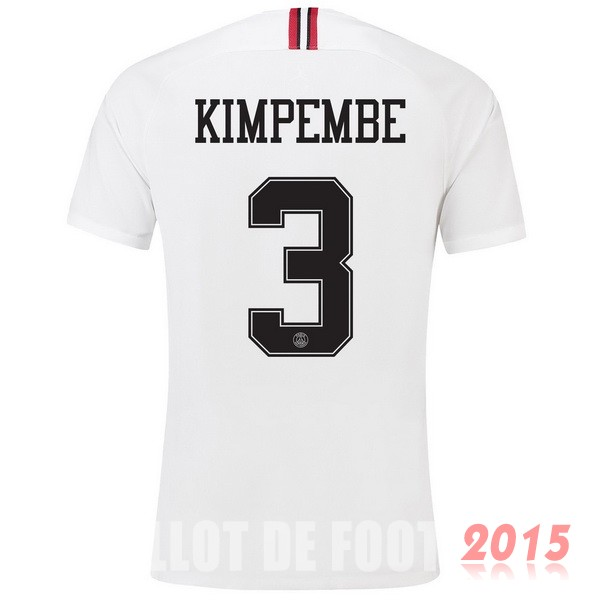 Maillot De Foot Kimpembe Paris Saint Germain 18/19 Third Exterieur