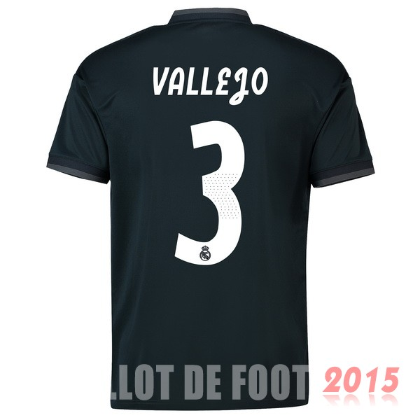 Maillot De Foot Vallejo Real Madrid 18/19 Exterieur