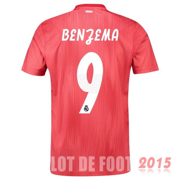Maillot De Foot Benzema Real Madrid 18/19 Third