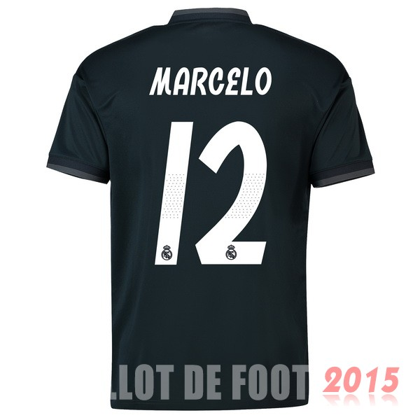 Maillot De Foot Marcelo Real Madrid 18/19 Exterieur