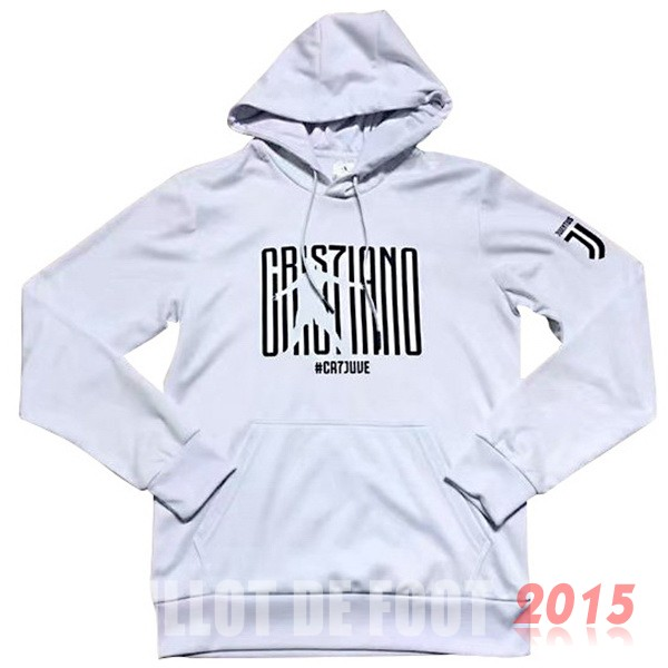 Sweat Shirt Capuche Juventus Blanc 18/19