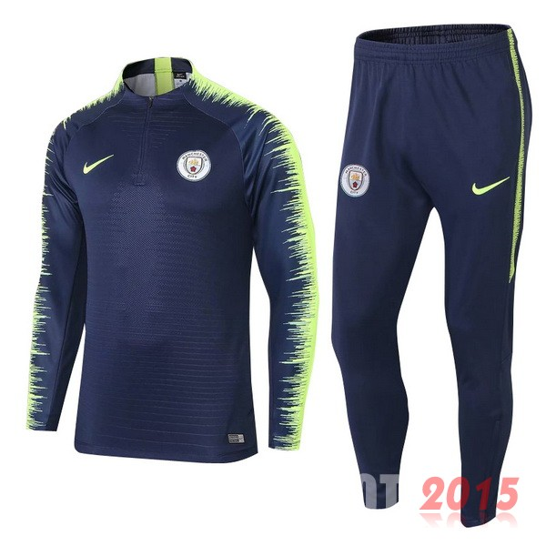 Survetement Enfant Manchester City Bleu 18/19