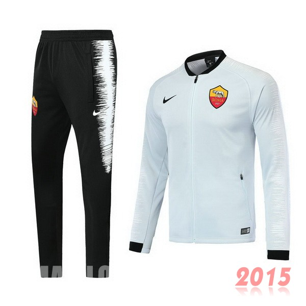 Survêtements AS Roma Blanc 18/19