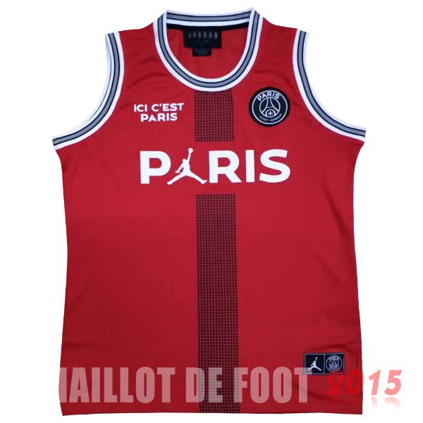 Maillot De Foot Sans Manches Paris Saint Germain 18/19 Rouge