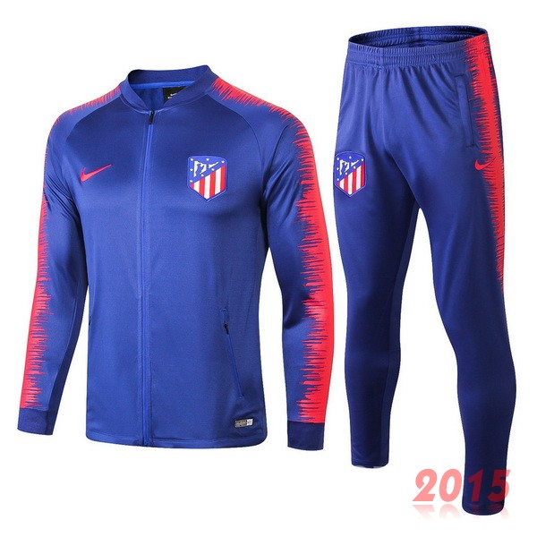 Survetement Enfant Atletico Madrid Bleu Rouge 18/19
