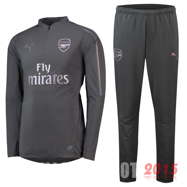 Survetement Enfant Arsenal Gris 18/19