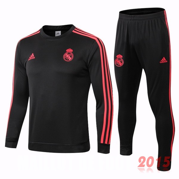 Survêtements Real Madrid Noir Rouge 18/19