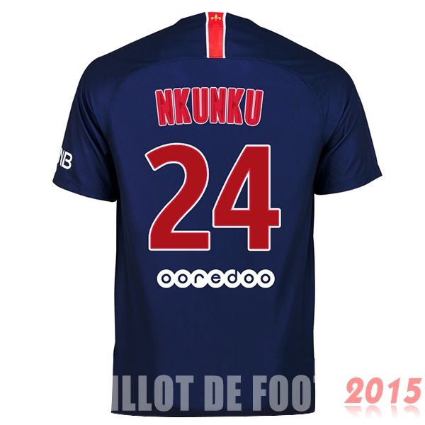 Maillot De Foot Nkunku Paris Saint Germain 18/19 Domicile