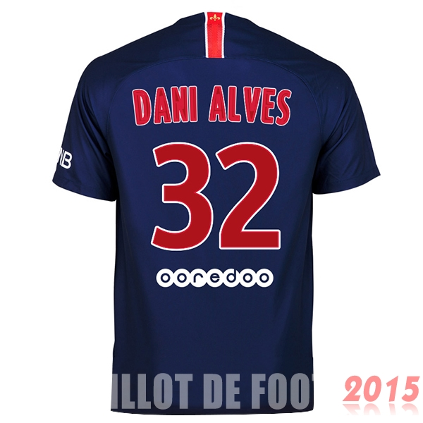 Maillot De Foot Dani Alves Paris Saint Germain 18/19 Domicile