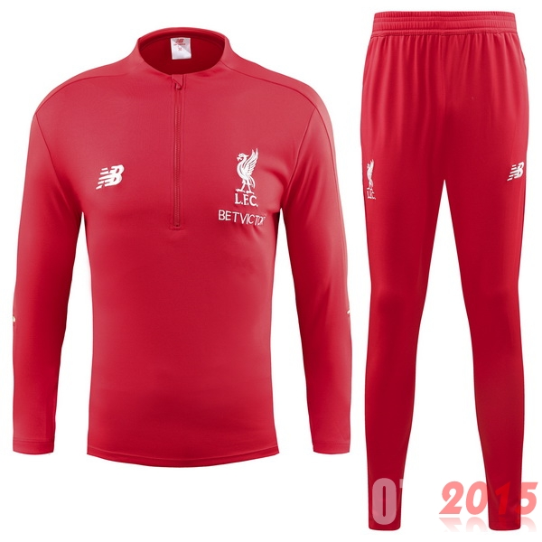 Survêtements Liverpool Rouge 18/19