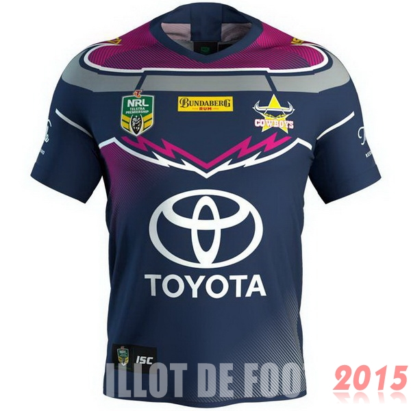 Rugby Maillot De Foot Cowboys 2018 Third Bleu