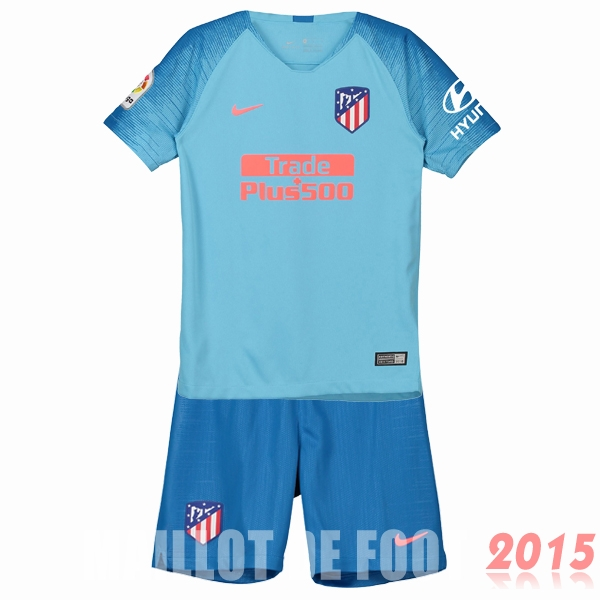 Maillot De Foot Atletico Madrid Enfant 18/19 Exterieur Un ensemble