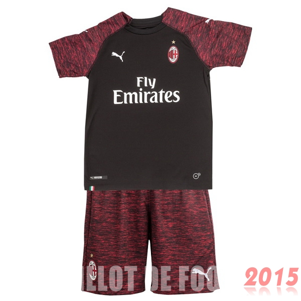 Maillot De Foot AC Milan Enfant 18/19 Third Un ensemble