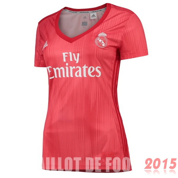 Maillot De Foot Real Madrid Femme 18/19 Third