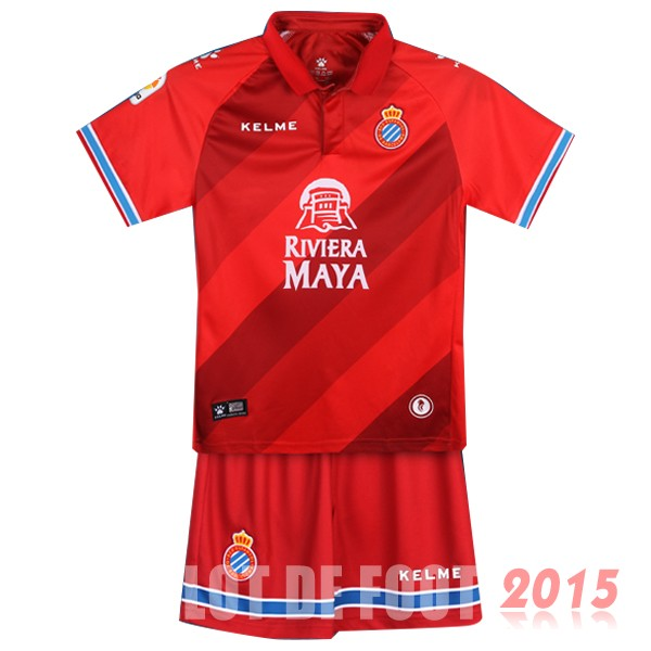 Maillot De Foot RCD Espanol Enfant 18/19 Third Un ensemble