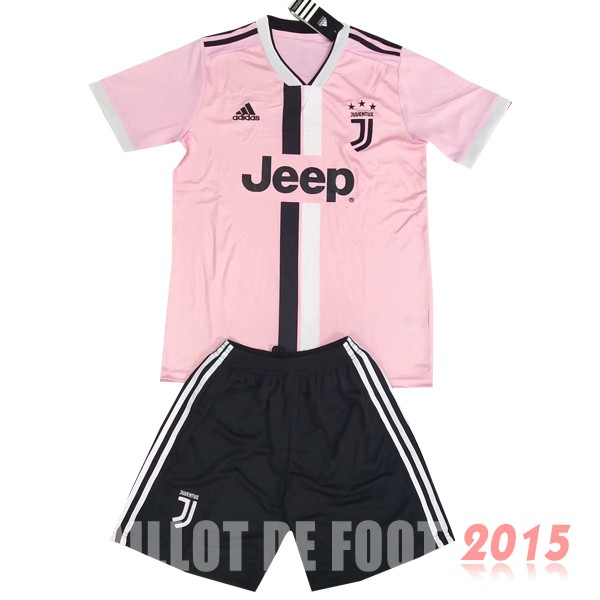 Maillot De Foot Juventus Enfant 19/20 Rose Un ensemble