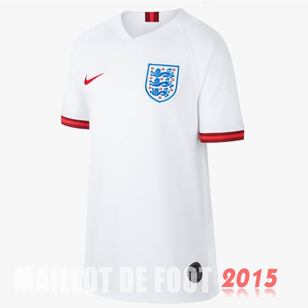 Maillot De Foot Angleterre Femme Mondiall 2019 Domicile
