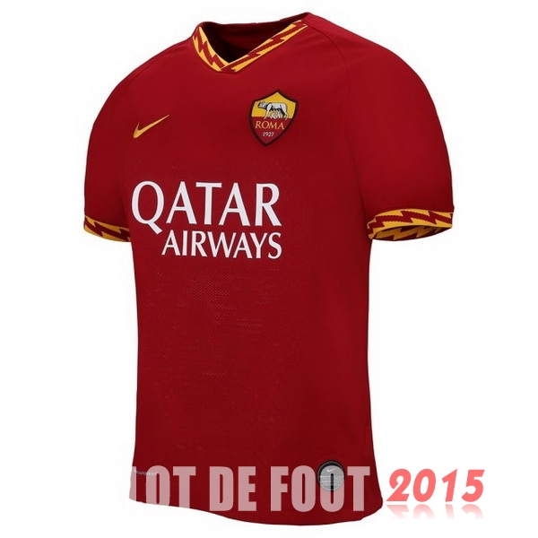 Thailande Maillot De Foot As Roma 19/20 Domicile