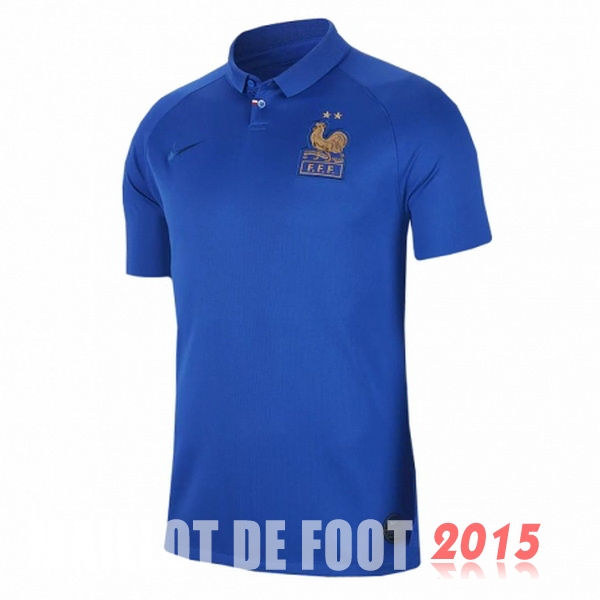 Maillot De Foot France Femme 100th Bleu