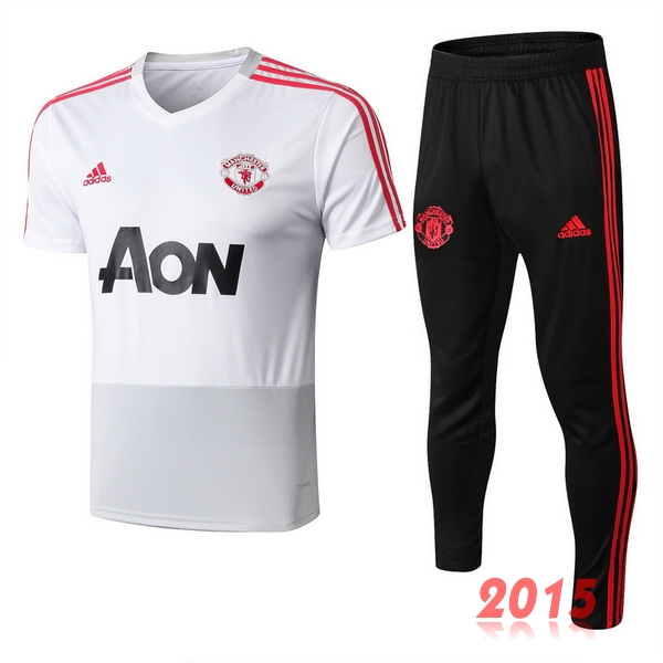 Ensemble Formation Blanc Rouge Manchester United 18/19