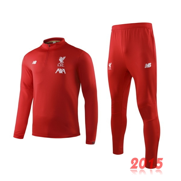 Survêtements Liverpool Rouge Blanc 19/20