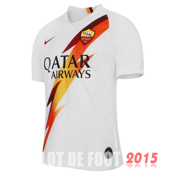Thailande Maillot De Foot As Roma 19/20 Exterieur
