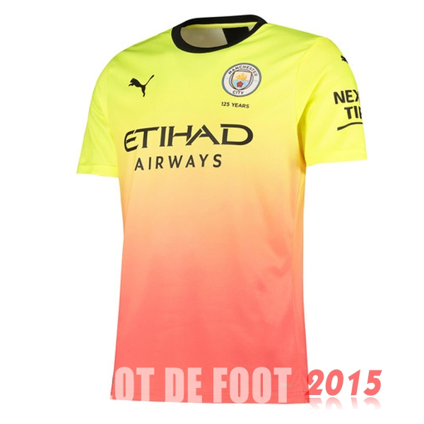 Thailande Maillot De Foot Manchester City 19/20 Third