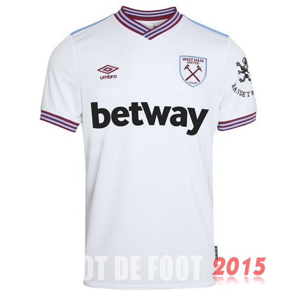 Maillot De Foot West Ham United 19/20 Exterieur