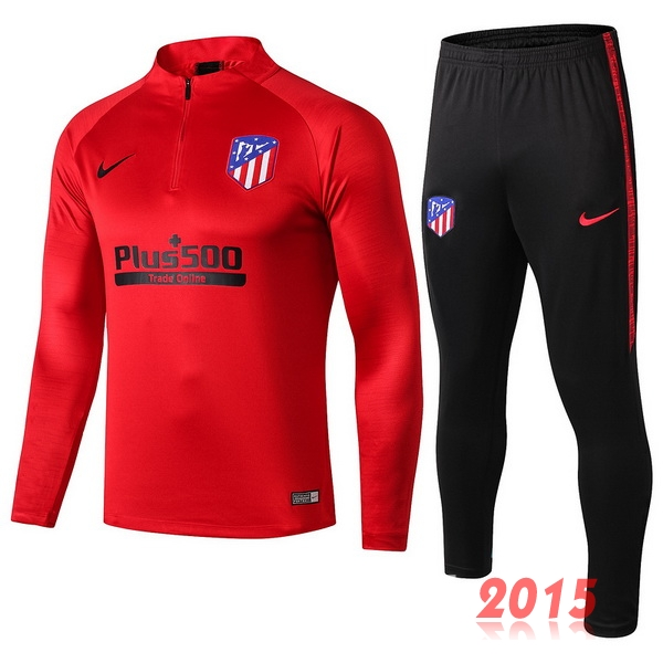 Survêtements Atletico Madrid Rouge Noir 19/20